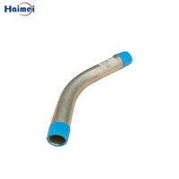 4 Inch 45°Aluminium Threaded Pipe Elbow