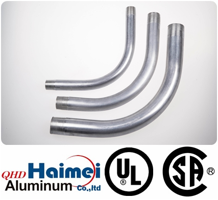 Rigid Aluminum 90º Elbows