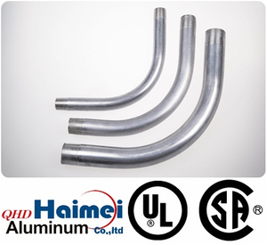 "2""UL Approved electrical rigid aluminum conduit elbows 90 degree"
